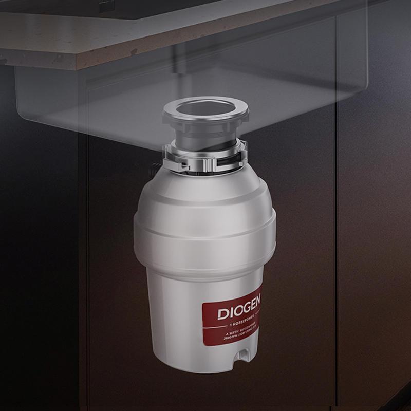 음쓰처리기 가정용 주방 음식물 쓰레기 분쇄기, 단일