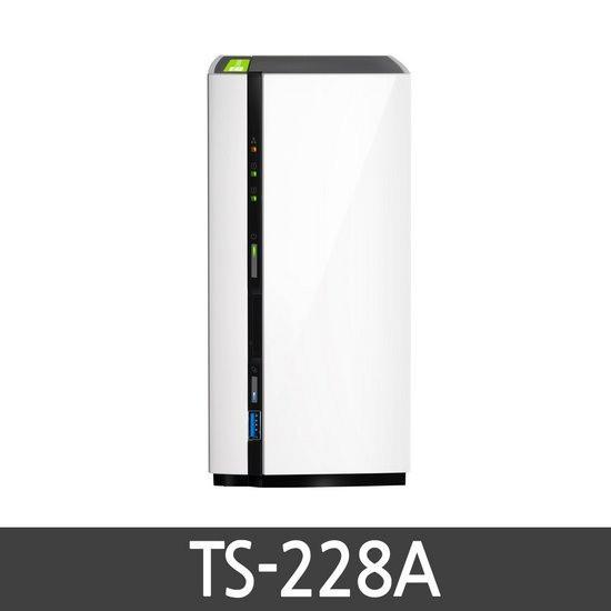 큐냅 TS-228A 하드미포함 정품 2BAY NAS, TS-228A(하드미포함)