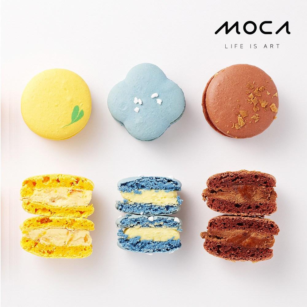 모카엔코 디자인마카롱 3종세트2 마카롱 디저트 케이크 빵 배달, 1개