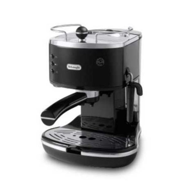 드롱기 아이코나 반자동 커피머신 ECO311.BK [블랙/1.4L/셀프 프라이밍 시스템], 단품