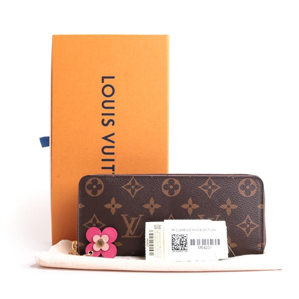 Louis Vuitton(루이비통) M64201 모노그램 캔버스 클레망스 월릿 장지갑