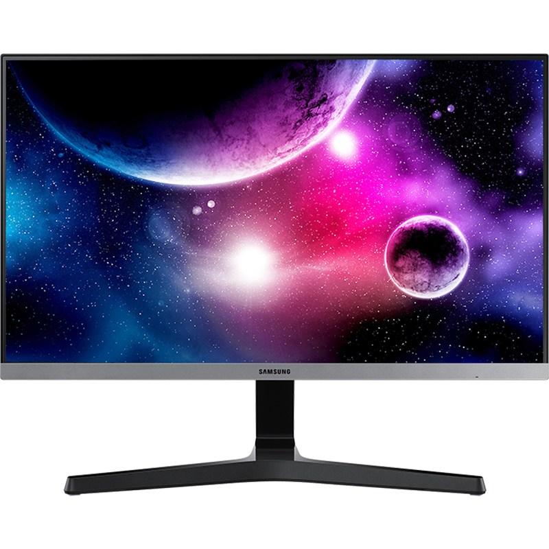 노트북 23.8인치 모니터 데스크탑컴퓨터 75Hz e-sports IPS액정 스크린 외부연결 ps4switch필기노트 디스플레이 1080P S24R350FHC, 1MB, C01-공식모델, T01-블랙색