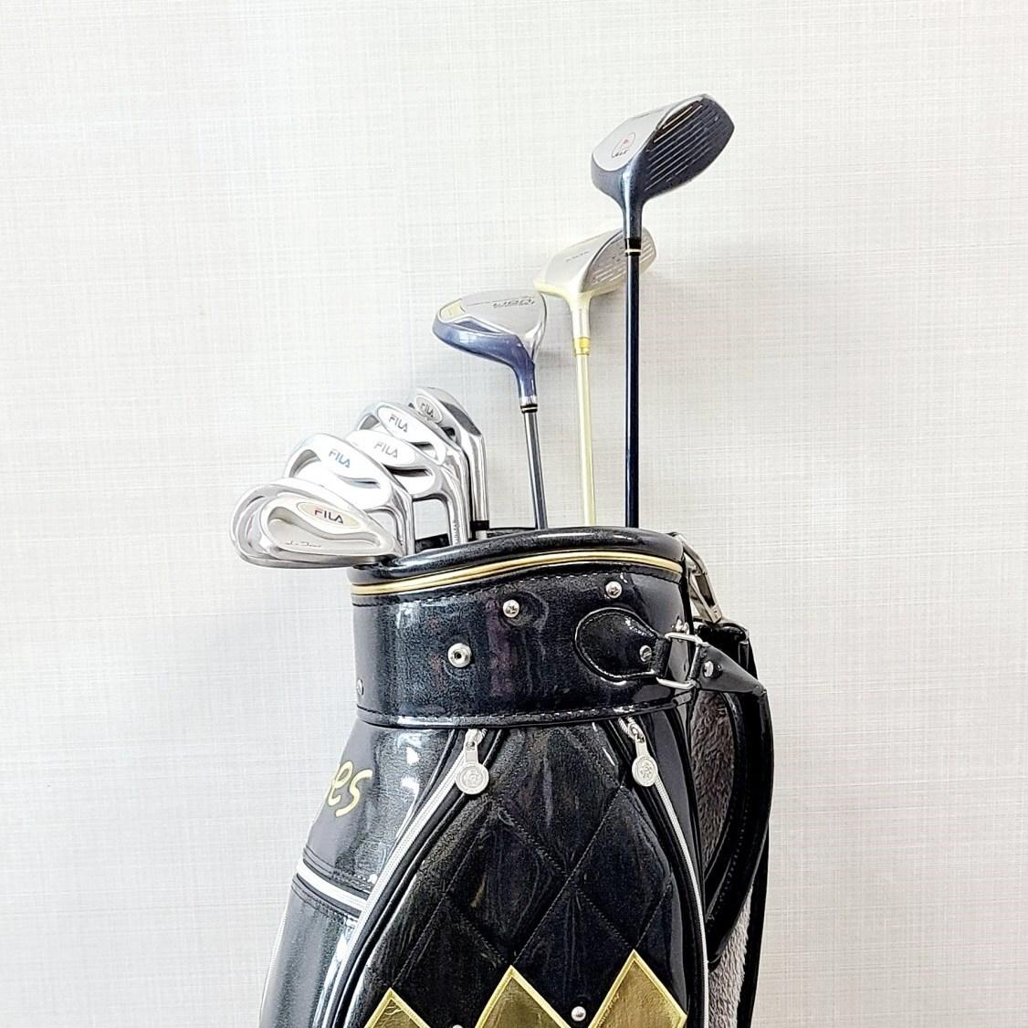여성골프채 풀세트 - 여성용 휠라 골프클럽 풀셋트