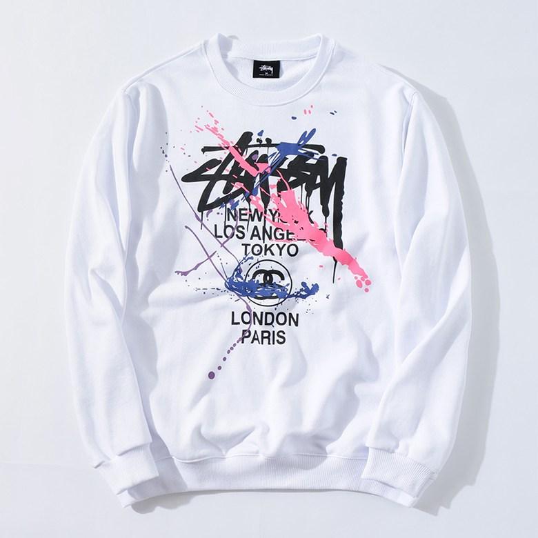 STUSSYstussy 커플 스웨터 2020 가을과 겨울 신식 구미 패션 브랜드 Stussy