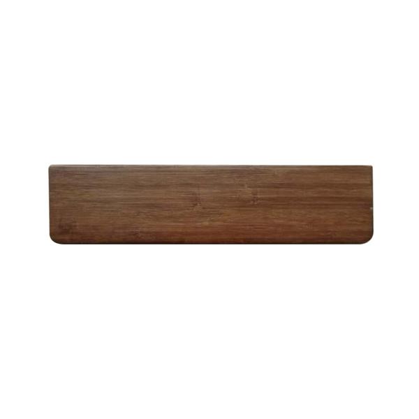 제닉스 XPAM 대나무 키보드 손목받침대 텐키리스, 1개, XPAM 브라운(텐키리스)