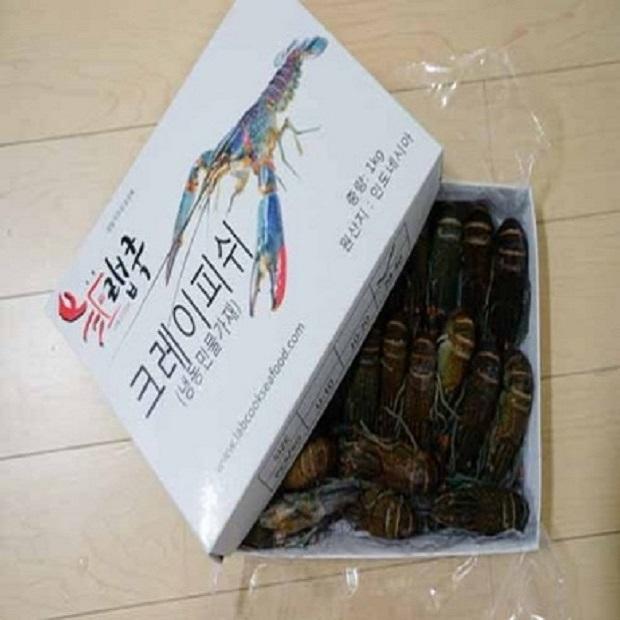 랩쿡 크레이피쉬 민물가재 마라롱샤 1kg, 1개, 1kg 51~60미