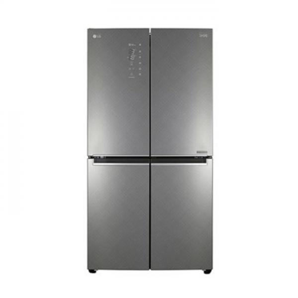 LG전자 프리미엄 엘지 양문형 냉장고 870L 4도어냉장고 매직스페이스 1등급 상냉장하냉동 UV자외선 (POP 4326333939)