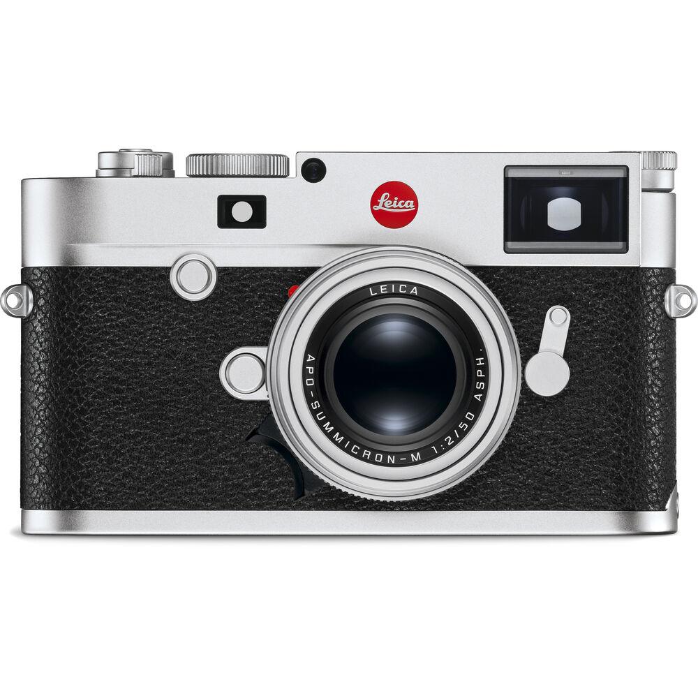 Leica M10-R Digital Rangefinder Camera (Silver Chrome)104182