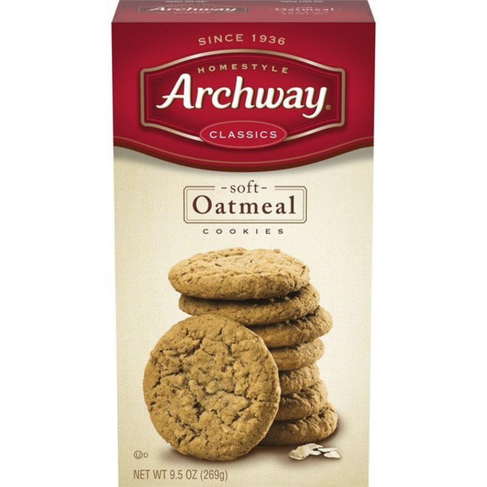 아치웨이 소프트 오트밀 쿠키, 소프트 오트밀(Soft Oatmeal), 269g