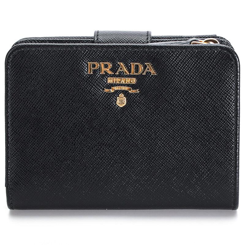 [Prada][국내배송] 프라다 20FW 1ML018 사피아노 메탈 로고 반지갑