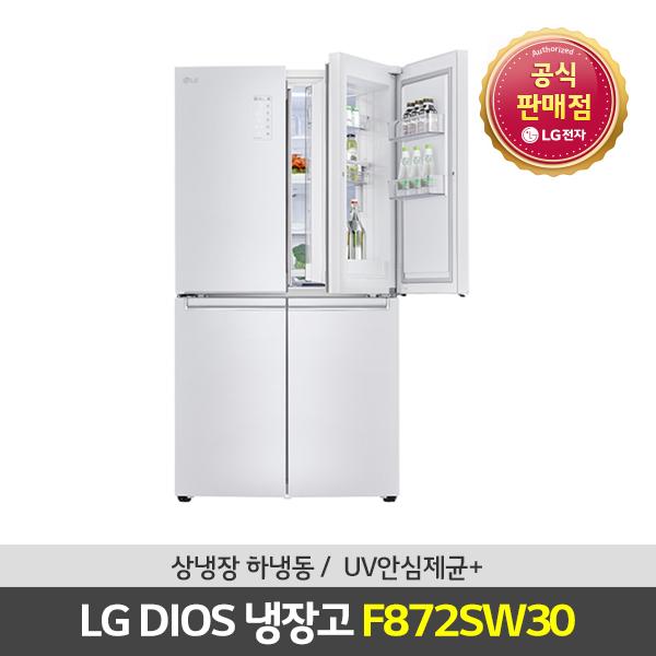 LG전자 디오스 매직스페이스 4도어냉장고 F872SW30, 상세 설명 참조