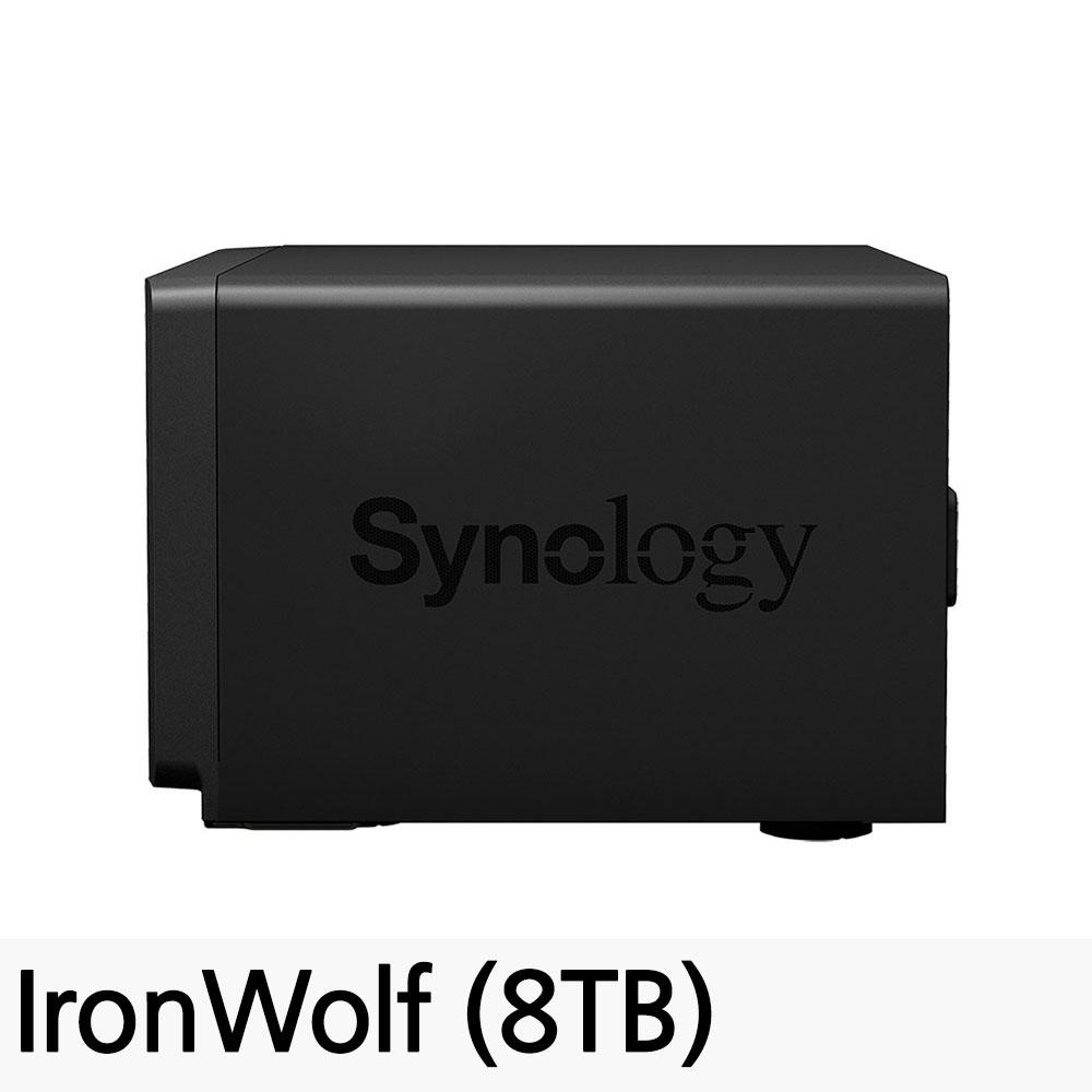 시놀로지 DS1819+ 8베이 NAS DiskStation 피씨디렉트, DS1819+ (8TB)