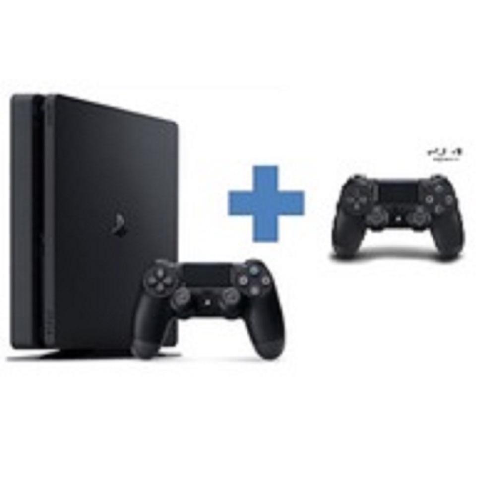 PS4 플레이스테이션4 슬림 블랙 2218B 1TB 듀얼쇼크 2인 새제품