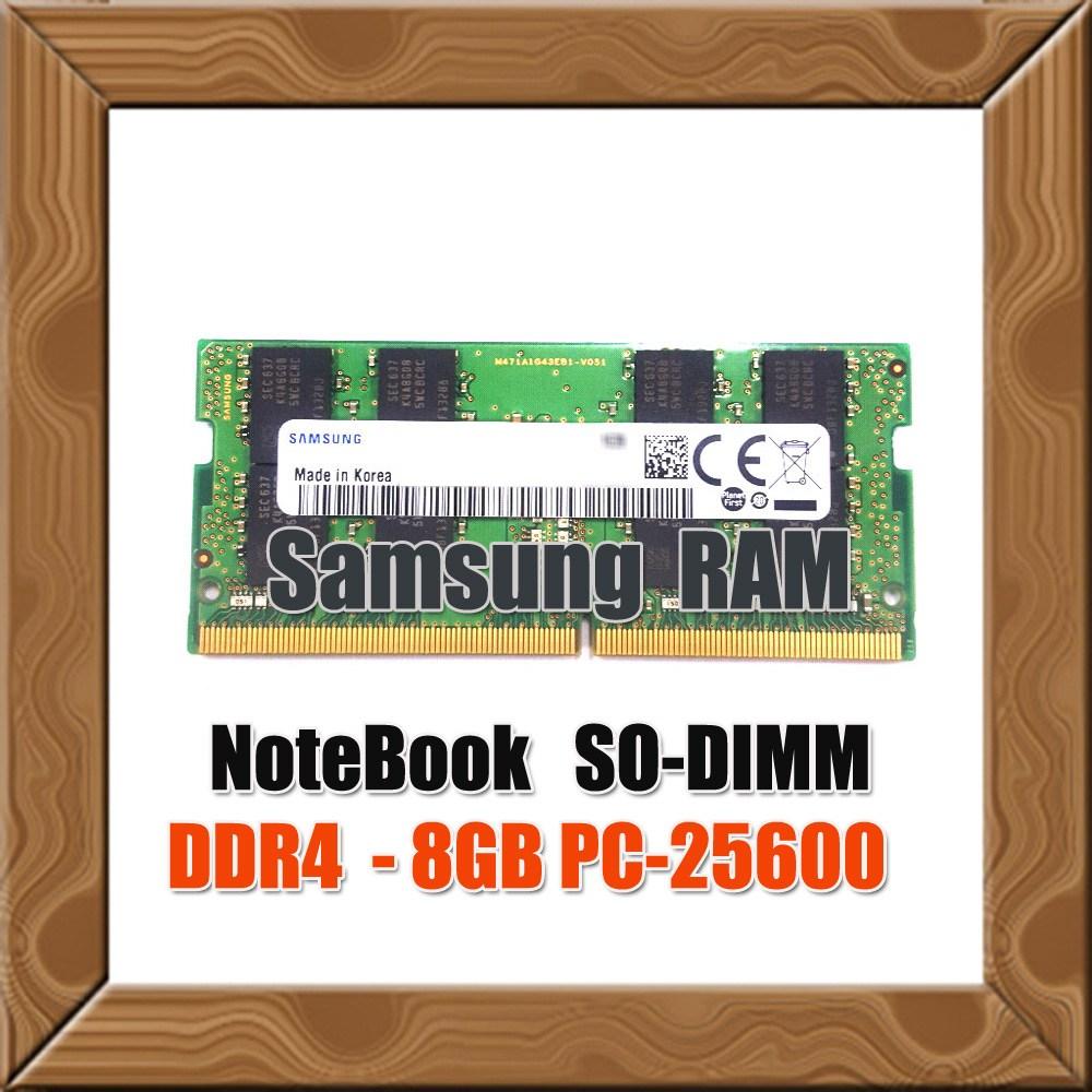 삼성전자 정품 노트북용 DDR4 8G PC4-25600 3200Mhz RAM MEMORY, 삼성 정품 노트북용 DDR4 8G PC4-25600