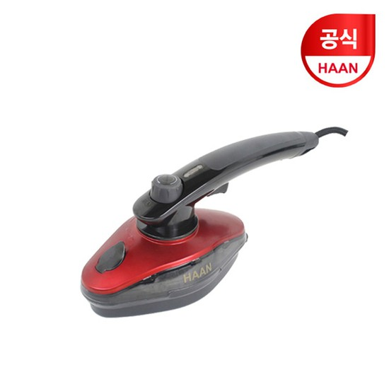 한경희 핸디 파워 스팀분사 스팀다리미 HI-800RD 레드+블랙
