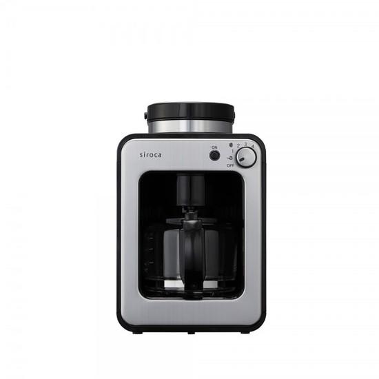 시로카 전자동 그라인더 드립 커피메이커, 블랙