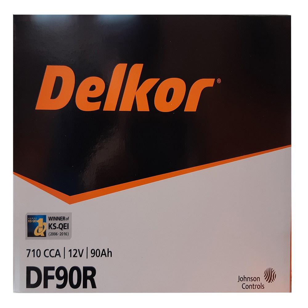 델코 DF90R 자동차배터리, 1box, 델코DF90R_공구대여_폐전지반납