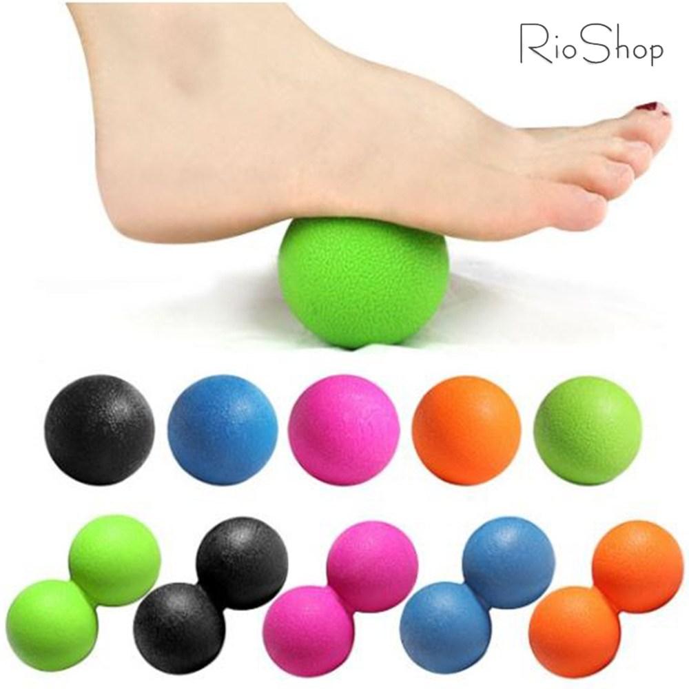 올인템 싱글볼 + 땅콩 마사지볼 세트 라크로스볼 땅콩볼, 1개, 싱글볼 블랙 +땅콩볼 블랙 (POP 1497313490)
