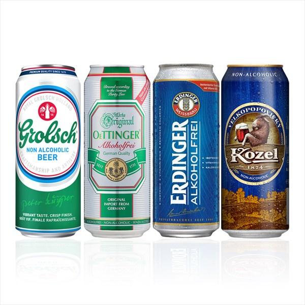 음료4종 (500mlx12캔) 네덜란드 슬로바키아 독일 맥주맛 음료, 12캔, 500ml
