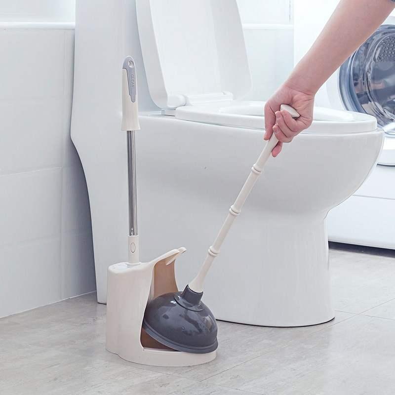 뚫어뻥 양수 변기 매직 화장실 수로 소통 파이프 막힘 변기흡착 세트포장, 기본