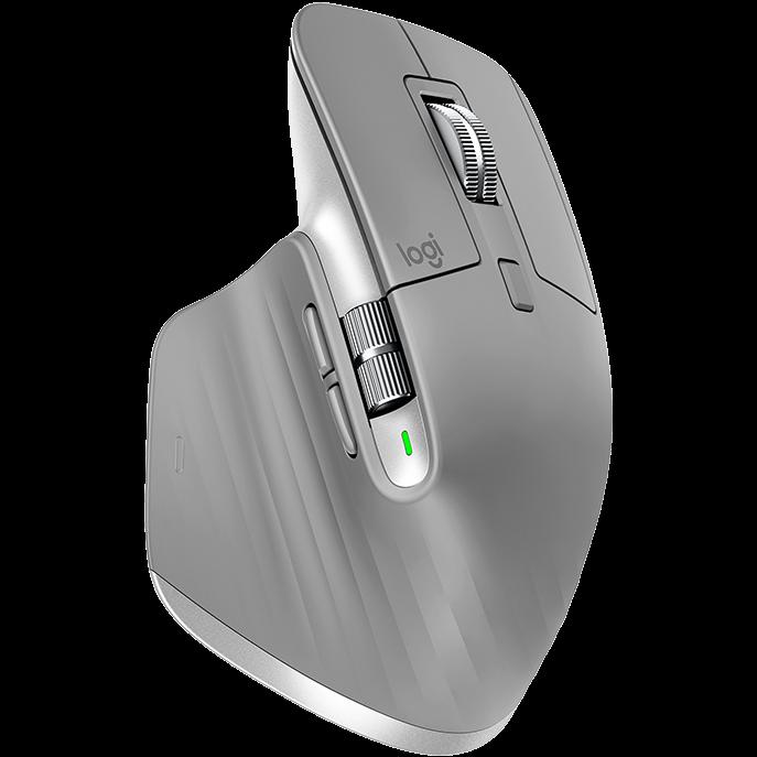 로지텍 Logitech MX Master 3 (마우스 패드 증정) 무선 마우스, 그레이, LG-MM3-GY