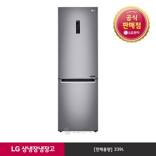 LG전자 [공식인증점] LG 모던엣지 냉장고 M349SE [3주이상 배송지연], 단일상품