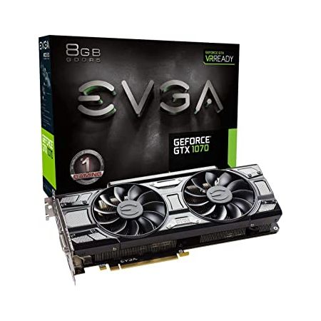 EVGA GeForce GTX 1070 Gaming ACX 3.0 Black Edition Graphic Cards (08G-P4-5171-KR) (Renewed) 9999993, 상세 설명 참조0