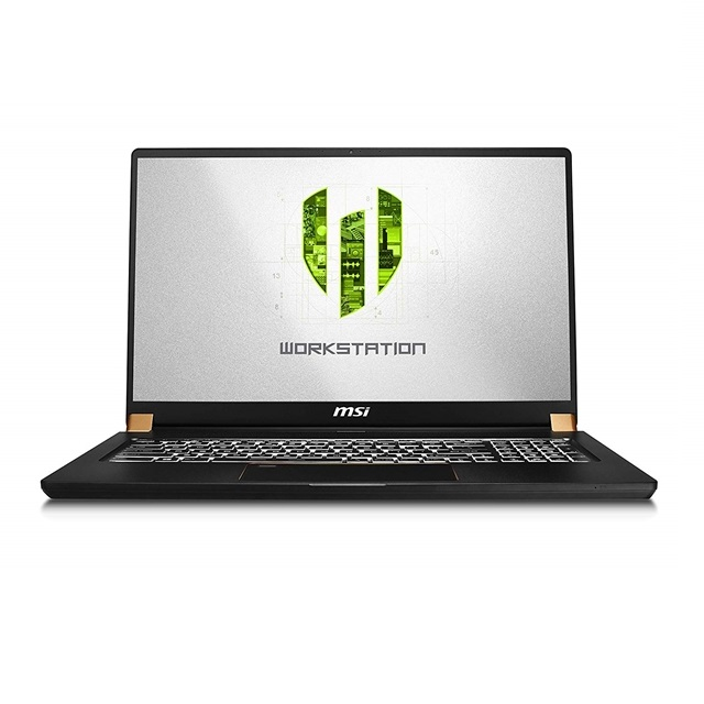MSI WS75 9TL-496 17.3 Thin and Light Mobile Workstation Intel Core i9-9980H NVIDIA Quadro RTX 4000, 단일색상
