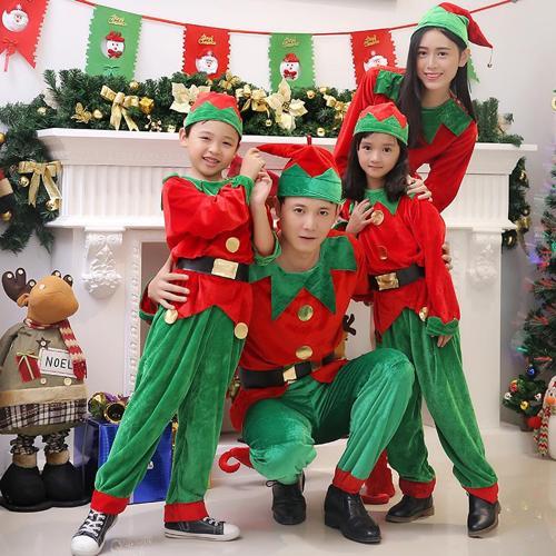크리스마스 산타복 코스튬 크리스마스 의상 의상 어린