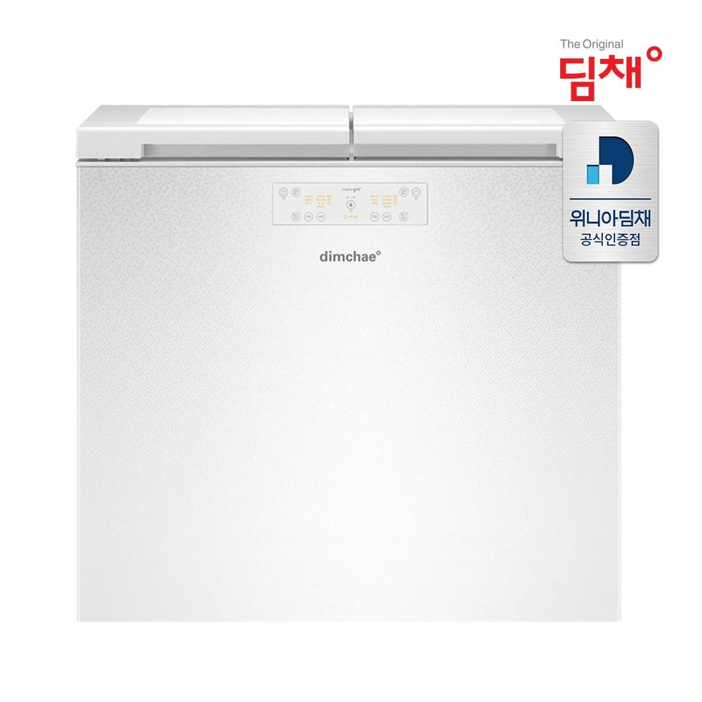 공식판매 21년형 딤채 뚜껑형 김치냉장고 EDL18EFWAWS (174L/앨리스화이트/2룸)