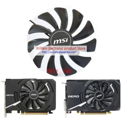 [해외] 원본 MSI RX560 GTX1050 GTX1060 AERO ITX 비디오 그래픽 카드 냉각 팬 HA9010H12SFZ DC12V 0.57A 33 RPM M560, 상세내용표시