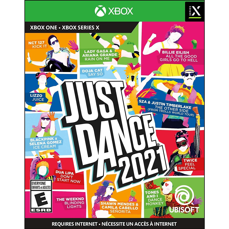 2021 저스트댄스 북미판 Just Dance 2021 Nintendo Switch PS4 XBOX ONE