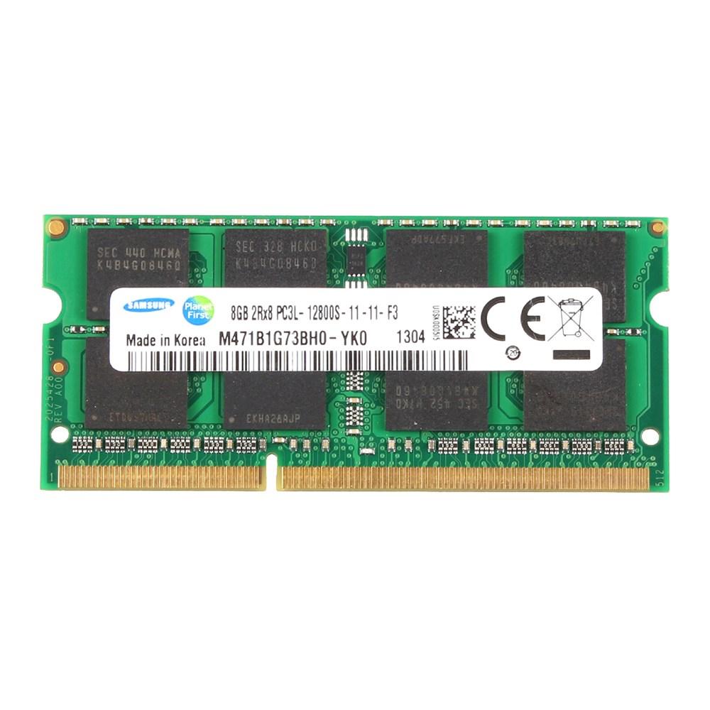 삼성 저전력 노트북램 DDR3 8G PC3L-12800S 신품, 단품