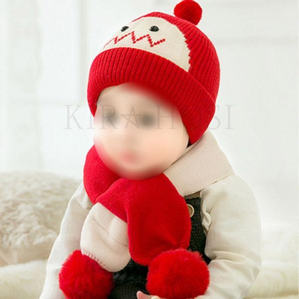 kirahosi 예쁜 키즈 겨울 모자 어린이 니트 방한 모자 따뜻한 모자 N 33 DIlj0arj