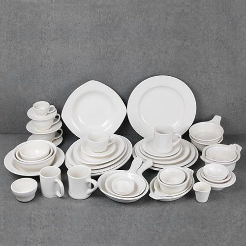 시라쿠스 접시 41종 모음 도자기 플레이트 커피잔, (선택29)-원형접시(12인치)