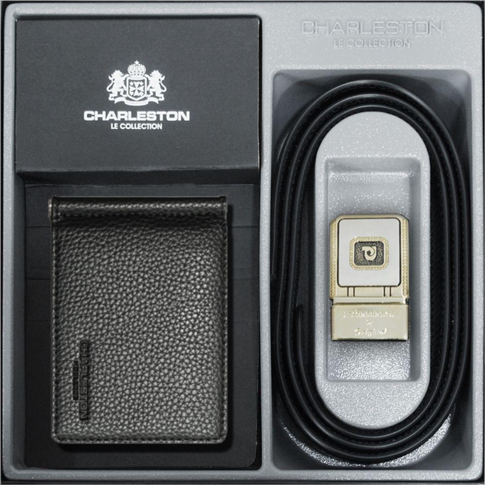 MDT2046 선물세트 찰스톤 머니클립 정장벨트 얇은지갑 (지갑/양복/정장/남성)