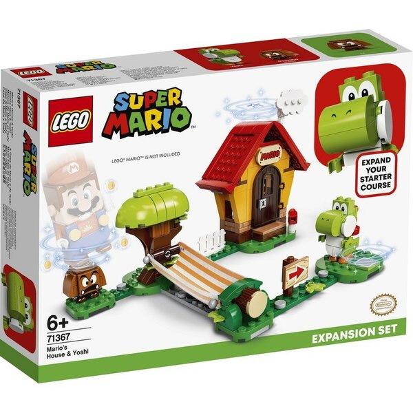레고 슈퍼마리오 71367 마리오의 집과 요시 확장팩