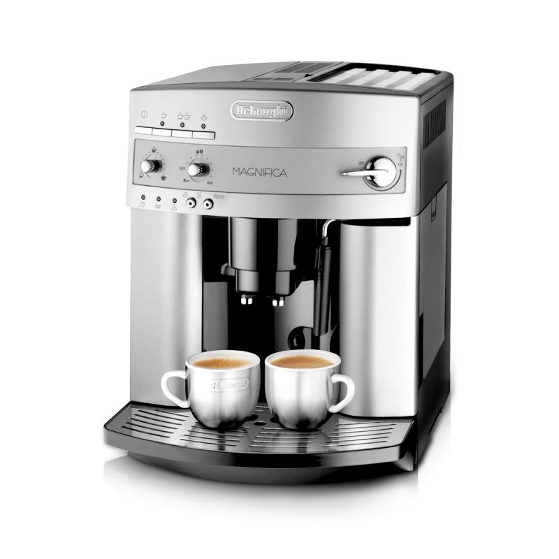 홈커피머신 윤스테이 가정용 자동 드롱기 커피머신 Delonghi 기계 미국 이탈리아 스타일 분쇄 우유 거품 한 수입 사무실 기계, 은