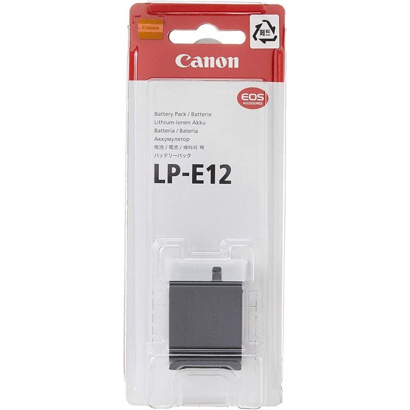 캐논 LP-E12 EOS M 및 100D용 배터리 팩, 단일옵션