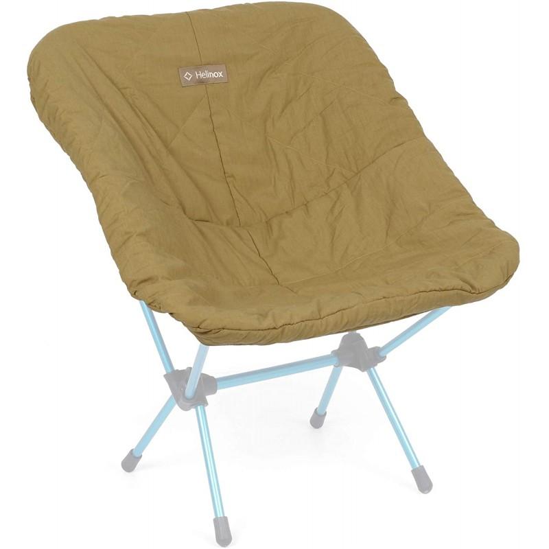 Helinox 캠핑 의자 커버 온기와 편안함을위한 합성 단열재 Coyote, 단일옵션