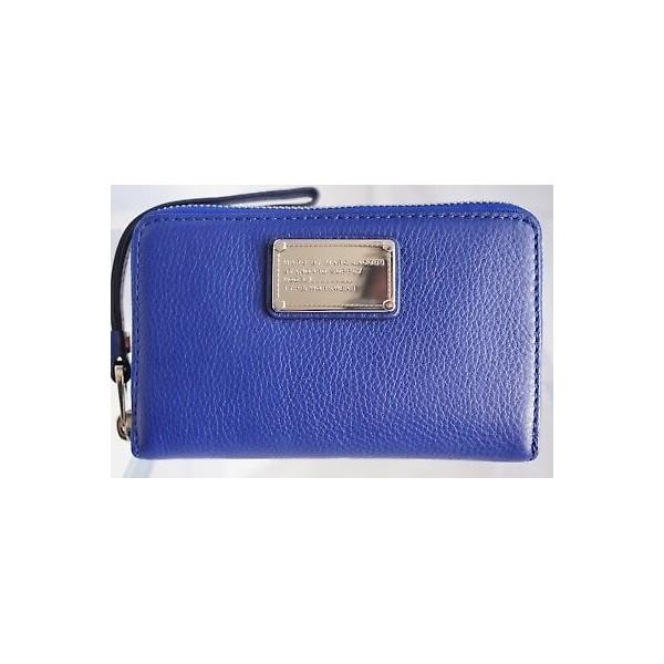 153835 Marc by 마크제이콥스 클래식 Q Wingman 지갑 팔찌 블루