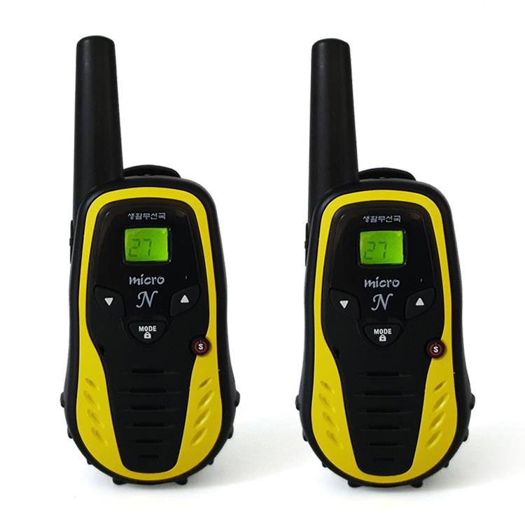 티티아이텍 뉴 멀티콤 마이크로N 생활무전기(Multicom MicroN)_2대 1세트, 뉴 마이크로 N 무전기(듀얼팩)