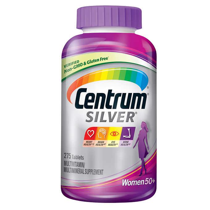 센트룸 비타민 실버 우먼 275정/Centrum vitamin silver woman + 275ct