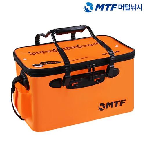MTF 베테랑 접이식 다용도 낚시 보조가방 살림통, 오렌지-4-1384073026
