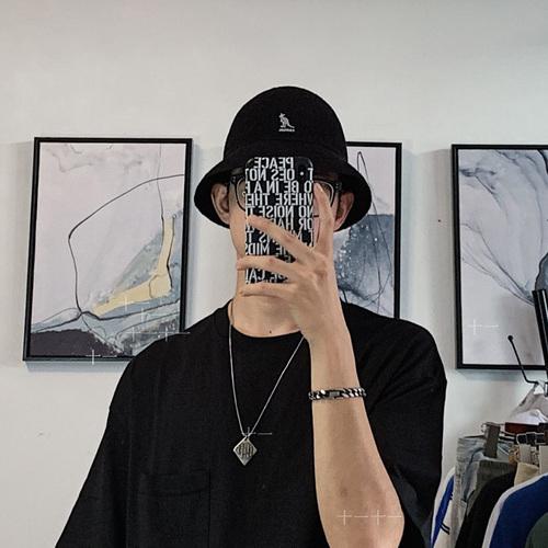 해외상품 캉골모자 여름 자외선 차단제 조수 캥거루 모자 캉골 어부 모자 남성 하라주쿠 복고풍 돔-50532