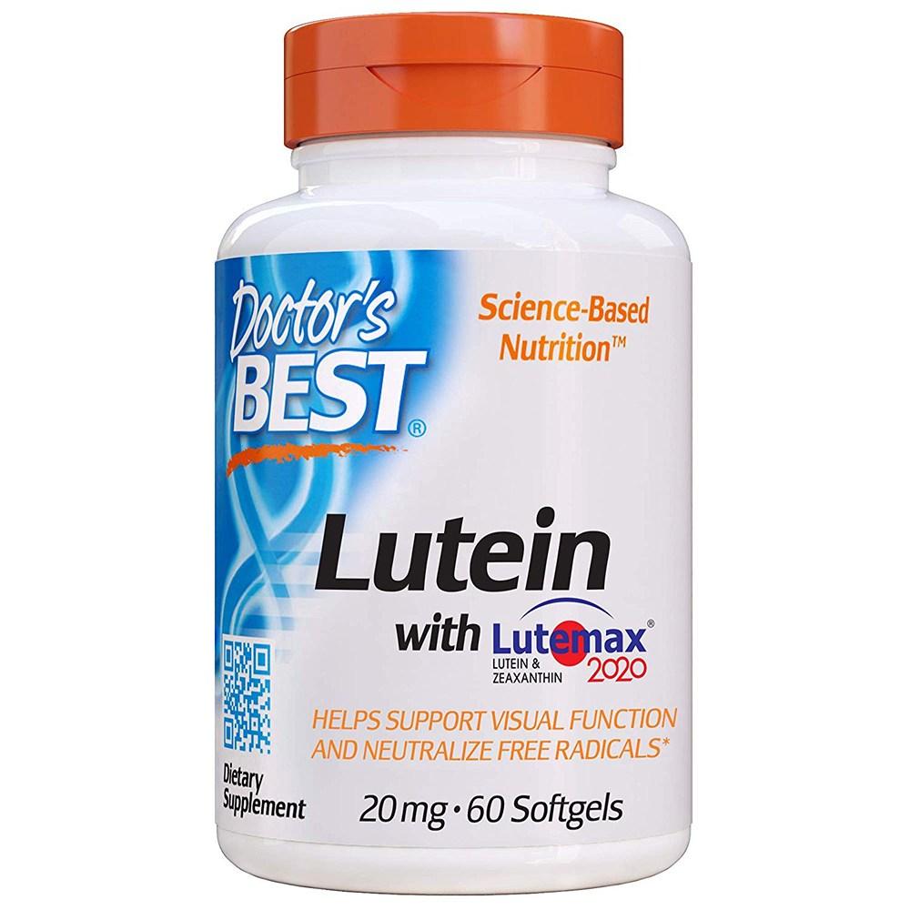 닥터스베스트 루테인지아잔틴 20mg 60캡슐(2개월), 1통, 60개입