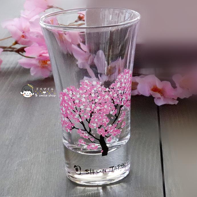 꽃피는술잔 술따르면꽃피는술잔 명품찻잔 술컵 다용도, 아이스변색 유리컵 1잔