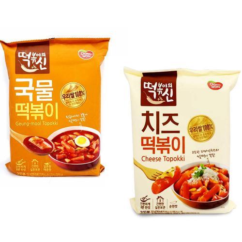 우림빅몰 동원 떡볶이의 신 진짜 맛신 국물떡볶이 치즈떡볶이 우리쌀 100프로 떡볶이, 동원 떡신 국물떡볶이422g, 2개