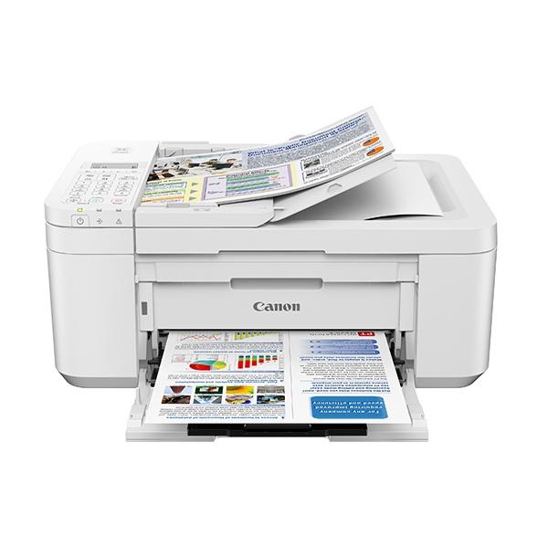 라온하우스 [Canon] 캐논 프리미엄 PIXMA 잉크젯복합기 (잉크포함) 컬러 출력 스캔 복사 팩스 자동양면인쇄 자동급지장치 A4 화이트, 블랙, 510609