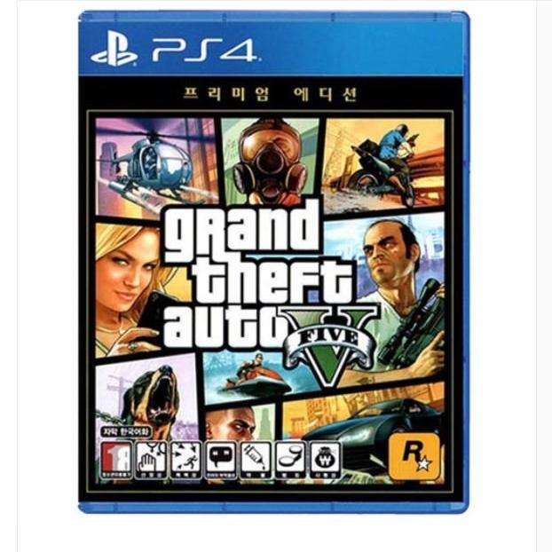 소니 PS4 GTA5 프리미엄 온라인 에디션 한글판